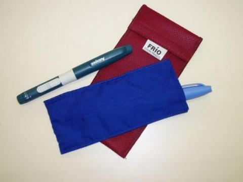 Термочехол ФРИО  для 2-х инсулиновых ручек (Frio Duo)