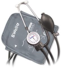 Тонометр механический B.Well MED-63 механический, стетоскоп, манжета с кольцом M-L (22-42 см)