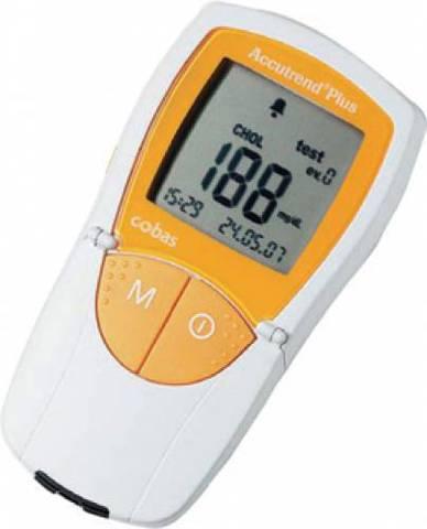 Прибор Аккутренд Плюс / Accutrend Plus mmol для определения уровня глюкозы, холестерина, триглицерид