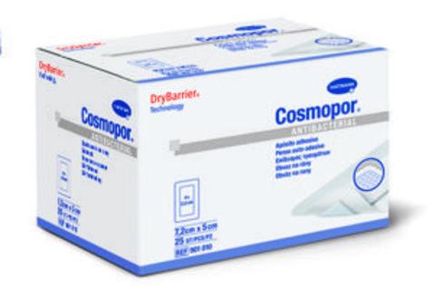 Повязка самоклеющаяся серебросодержащая COSMOPOR Antibacterial