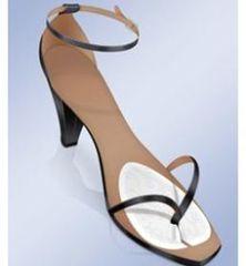 Прозрачные  гелевые подушечки для обуви с межпальцевым разделителем арт. PS-20