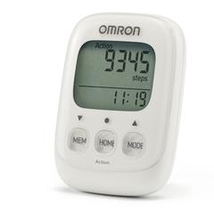 Шагомер электронный OMRON HJ-325 (белый)