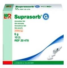 Suprasorb G Супрасорб Г гидрогель в шприце для некротических ран 6г.