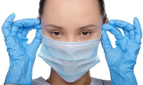 Антивирусный набор (маска+перчатки)
