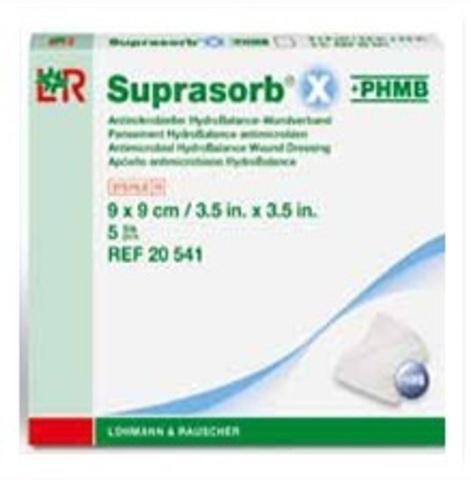 Повязка Suprasorb X+PHMB Супрасорб для гнойных ран