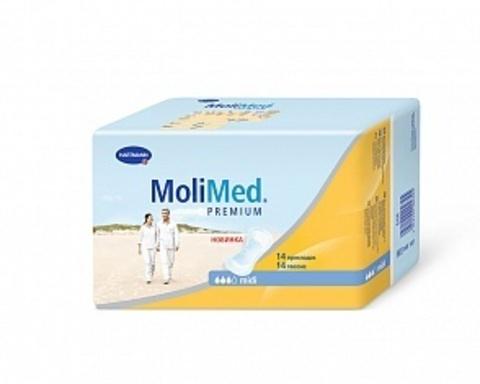 Прокладки урологические для женщин MoliMed Premium midi, 14 шт