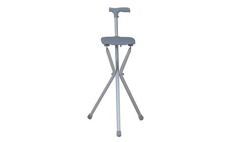 Трость стул с рукоятью эргономичной горизонтальной
