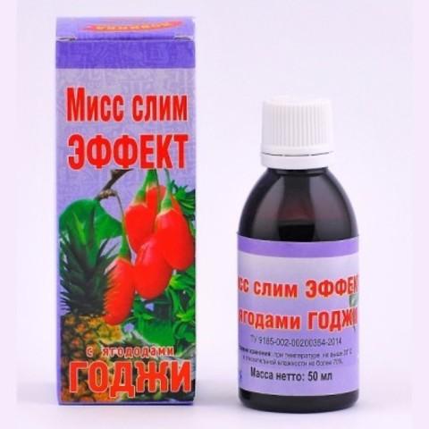 Мисс Слим эффект с ягодами Годжи 50 мл