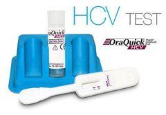 Экспресс-тест на гепатит С OraQuick Rapid в слюне,
