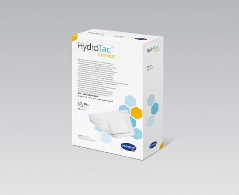 ГидроТак комфорт / HydroTac comfort - самофиксирующиеся губчатые повязки с гидрогелевым покрытием;