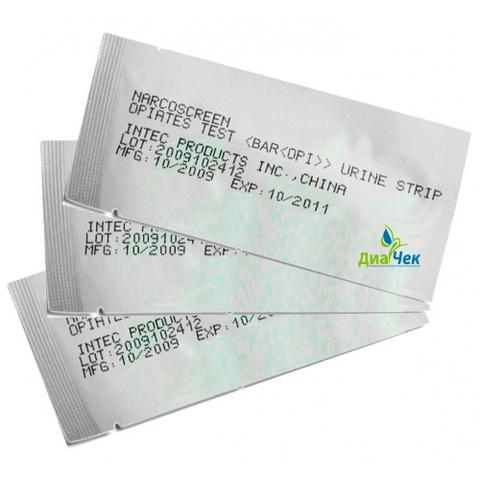Тест-полоска ИХА-барбитураты-фактор (BAR) по моче