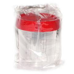Контейнер для сбора биоматериала стерильный, 120 мл